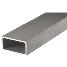 OEM Extruded aluminum rectangular tubing